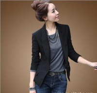 ladies' fashion little leasure nice suit women's spring suit free shipping ,ladies' coat autumn outerwear korean,blazers