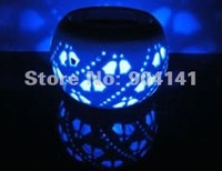Christmas Home Decoration Pumpkin Solar Fence Lights