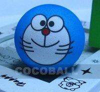 Hot sale  EVA pencil aerial antenna ball topper  Doraemon cartoon 10pcs / lot