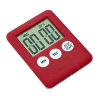 Free battery involved Cheap LCD kitchen timer magnetic clock in kitchen hot sale high quality factory price