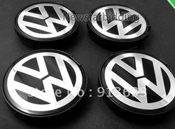 In stock In stock 55mm Vw Emblem Wheel Center Caps Covers Passat Jetta Golf 6n0 601 171 4x Set(China (Mainland))