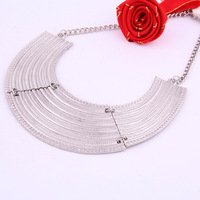 Min order is $20(Mixed order)fashion metal necklace  Free shipping   restoring ancient ways decoration