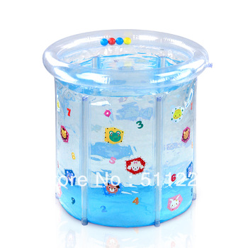 HOT Sale Baby transparent colored drawing pvc mount swimming pool baby swimming pool infant inflatable