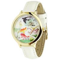 Mini clay cartoon vintage butterfly child birthday gift girl women's watch swim fish