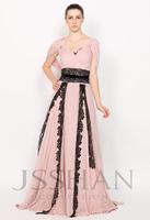 11P190 Off Shoulder V-Neck Ruched Tunic Lace Junoesque Elegant Gorgeous Luxury Unique Evening Dress Prom Party Dresses