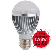 LED E27 3W light bulbs E27 5W indoor lamp LED bright high power e27 screw-mount bulb 3w white gold