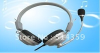 Free Shipping HD Headphone Portable Headset Brand Earphone Computer Headphone with Retail Box S-031