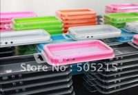 100pcs/lot Frame for iphone 5 Bumper Hard cover case For iPhone 5G Free DHL/UPS/Fedex Shipping