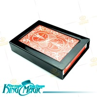 FREE SHIPPING Disappearing Cards and Case-King magic tricks toys wholesales