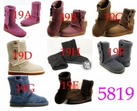 New  5819 Cardy SHEEPSKIN WOOL WOMEN Snow BOOTS