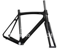 2014 miracle super light and stiff carbon frame road bike frame size 52cm  AC018 with 3k glossy finish 2years of warranty