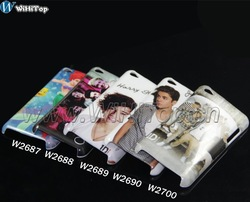 Justin Bieber&One Direction Case for iPod itouch 4 (10PCS/lot)(China (Mainland))