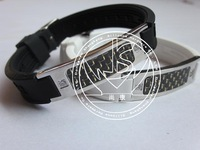Low price ,High Quality!wholesale energy bracelet, negative ion bangle, bio element with 4 in 1, power energy bracelet
