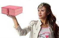 Woman's Treasure Box Senior Crocodile leather 3 layers bulk Jewelry Boxes k8521