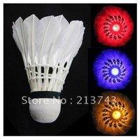 1x Dark Night LED Badminton Shuttlecock Birdies Lighting
