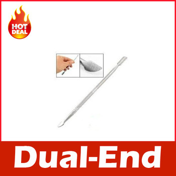 Nail Cuticle Pusher Spoon Cut Manicure Pedicure Remover