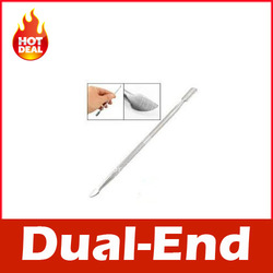 Nail Cuticle Pusher Spoon Cut Manicure Pedicure Remover(China (Mainland))