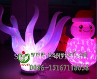 Hot sale New vogue Stage Decoration Led Light Inflatable Snowman
