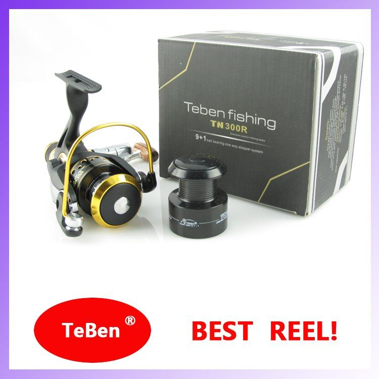 FREE SHIPPING TNR 300/400 FISHING REEL HOT SALE sea/fresh water 5.1:1 9+1BB(China (Mainland))
