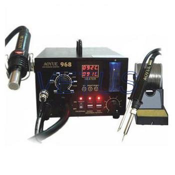 Aoyue 968 Hot Air Soldering, 3 in1 Repairing, Rework Station for PCB Repair 220V