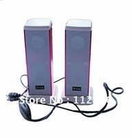 NEW - Aluminium Alloy Materials -MINI-USB Stereo Speakers, Computer Speakers Laptop, 2*3W Small Box