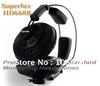 Superlux HD668B Semi-open Dynamic Professional Studio Standard Monitoring Headphones For DJ Music Detachable Audio Cable
