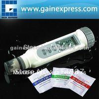 Digital pH Meter Tester w/ ATC Temperature C/F Auto calibration+Free 3 buffer solutions pH4.0 pH7.0 & pH10.0 Water & Dust proof