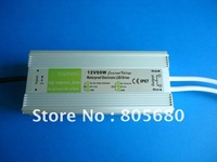 IP67 12V60W AC100-240V Input Electronic Waterproof Led Power Supply/ Led Adapter