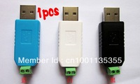 Free shipping,1pc USB to RS485 485 Converter adapter for Vista Windows 7 XP Linux MacOS WinCE 5.0