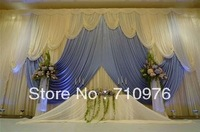 wedding party backdrop wedding decor and props Background curtain shade backdrop fabrics