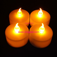 200pcs/lot battery LED tea light Free Shipping by DHL/UPS/FEDEX/TNT