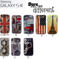 Vintage New Fashion Retro Hard Case For Samsung Galaxy S3 i9300, 10pcs mix design