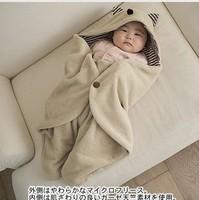 Wholesale 5pcs/lot baby sleeping bag blanket/quilt Warm baby sleepsacks Multi-functional winter newborn embrace /swadding
