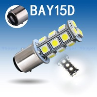 1157 BAY15D P21/5W 18 SMD 5050 Pure White Yellow Tail Turn Signal 18 LED Car Light Bulb Lamp
