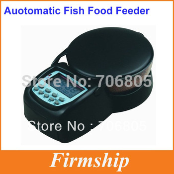 Free shipping Aquarium Automatic Tank Digital Timer Fish Food Feeder + Factory Dropshipping