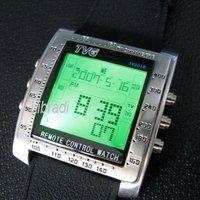 5pcs TV SAT DVD VCD Multi-Function Remote Control Sports Watch Alarm Clock Backlight TV2018
