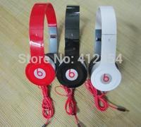 Free shipping drop shipping mp3 mp4 earphones computer headset earphones bass folding mobile phone headphones 3.5mm