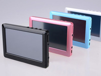 real 8gb mp5 player fm radio video player 4.3inch touch screen T13 mp5 mp4 mp3 player support TF card free shipping 30pcs