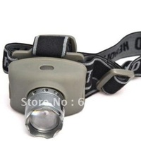 Discount Ship + 50PCs CREE LED Headlamp Headlight Focus Control Adjustable Waterproof Strap HeadLights