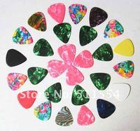 Free Shipping Mixed Custom No Printing GUITAR PICKS Standard Celluliod Guitar Picks Wholesale