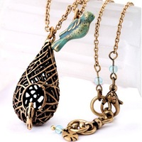 N069T Vintage  double layer Women  necklaces for women wholesale charms TN-6.99