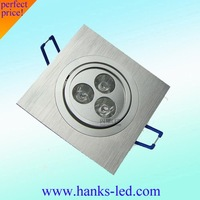 so cheap led down light led square light  3w free shipping.