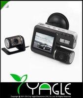 HD 720P Dual Lens Dashboard Car vehicle Camera Video Recorder DVR CAM G-sensor 5 2