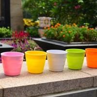 2013 garden pots,plant fiber flower pots, artificial flowers for home decoration, free shipping!