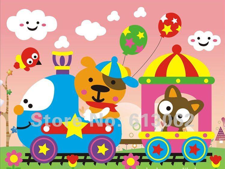 De nouveaux eva 300 pcs main jouets diy puzzle enfants cartoon tr