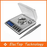 Free shipping 20g x 0.001g Jewelry Pocket Digital Scale 10pcs/lot Wholesale