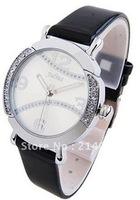 Julius Luxury Rhinestone Analog Wrist Quartz Watch for Women