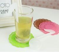 Retail Novelty Music Notes Tea Mesh Ball Filter Teaspoon Tea Strainers (KA-05)