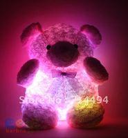 New high-quality light-emitting teddy bear plush toys, stereo rose velvet Birthday Valentine Christmas gift. Best workmanship.