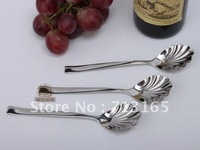 free shippping high quality stainless steel sugar spoon,soup spoon,30pcs/lot
